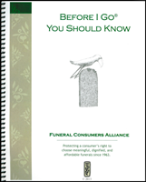 Before I Go You Should Know End of Life Planning Kit